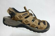 MERRELL Leather Brown Sz 12 Men Sport Hiking Sandals