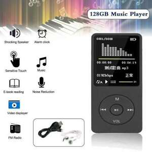 Support 128GB Portable MP3 Player Lossless HIFI MP4 Music Player Music speaker