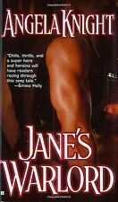 Jane's Warlord by Angela Knight (2007) New !