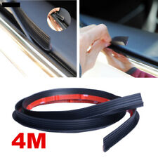 V Shape 4M Car Door Window Trim Edge Moulding Rubber Weatherstrip Seal Strip