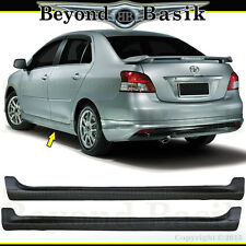 2007-2012 Toyota Yaris 2PC Side Skirts TRD Factory Style Body Kit