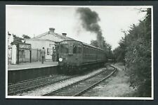 PAMLIN PC SIZE FOTO - HAWKHURST RAILWAY STATION KENT 1958
