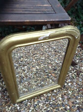 French Vintage Mirror for Restoration