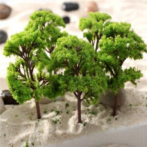 20PCS Model Trees Train Railroad Wargame Park Scenery HO scale 55mm Mini