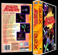 Shadow Squadron - Sega 32X Reproduction Art Case/Box No Game.