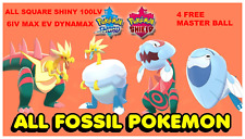 Dracozolt Arctozolt Dracovish Arctovish 6IV Ultra Shiny Pokemon Sword Shield