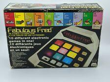 VTG 1980 Mego Fabulous Fred Ultimate Electronic Game Tested & Works