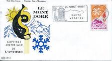 FRANCE FDC - 399A 1306 1 LE MONT DORE flamme 1 7 1961