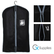 """1x Single Breathable Black Suit Cover Garment Clothes Travel Protector Bag 40"""""""