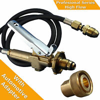 "LPG Filler Gun & Hose Automotive Decanting kit  with Acme 1 3/4""Auto Adpter"
