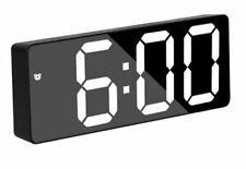 Orologio Sveglia Datario Gh0712L Specchio Termometro Digitale Da Tavolo Lcd sus