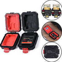 12 Slots Micro SD TF SDHC MSPD Memory Card Protecter Box Storage Case Holder