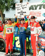 JEFF GORDON, RICKY CRAVEN & TERRY LABONTE AT DAYTONA 8X10 GLOSSY PHOTO #58g