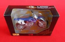 Rare ~ YAMAHA YZ 400F ~ MAISTO Special Edition ~ 1:18 Scale Die Cast Motorcycle