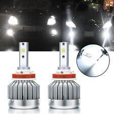 H16 H11 White 6000K LED Conversion Kit Bulbs for Fog Light Driving Lamp 6000LM