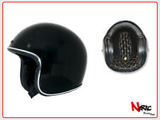 AFX FX 76 CASCO MOTO CAFE RACER CUSTOM VINTAGE HELMETH CHOPPER GLOSS BLACK