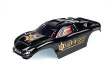 Custom Body Sheriff  Police for Traxxas Rustler VXL 1/10 Truck Car Shell Cover