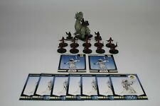 Star Wars Miniatures Jawa On Ronto #47/60 & 12 Assorted Jawas 9 Cards 2007 VG