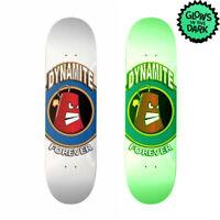 Dynamite Forever Skateboard Deck Icon Glow In The Dark FREE GRIP
