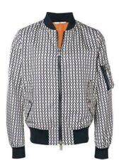 Valentino Logo Print Bomber Jacket Size 50/L NWT $2295