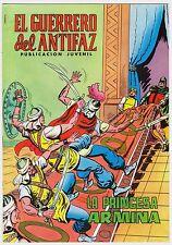 EL GUERRERO DEL ANTIFAZ (Reedición color) nº: 109.  Valenciana, 1972-1978.
