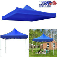 10x10ft Canopy Top Replacement Gazebo Patio Sunshade Tent Oxford Cover