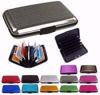 New Aluminium RFID Block Holder Security Wallet Bank Card Credit Card Hard Case