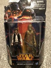 Star Wars Mission Series Death Star Pack Han Solo Chewbacca