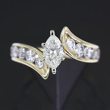 rings bn ebay diamond b s gold kay engagement jewelers yellow marquise