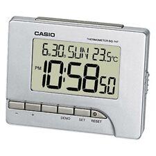 Casio Numérique Réveil avec thermomètre couleur argent dq-747-8ef