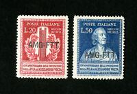 Trieste Stamps # 53-4 VF OG LH
