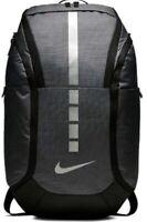 Nike Hoops Elite Pro Basketball Backpack Fuel Pocket Padded Durable Black Gray