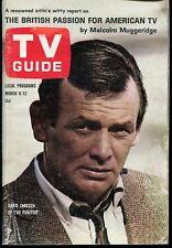 TV GUIDE MAGAZINE ~ NO. 623 ~ MARCH 6-12, 1965 ~ DAVID JANSSEN