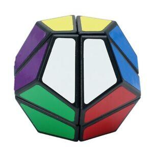 12 Face Cube Magic Brain Game Rubic Rare Gift Kid Adult Rubix Puzzle Toy Black