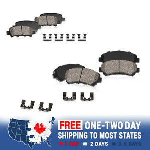Front And Rear Ceramic Brake Pads For 2007 2008 2009 BMW 335