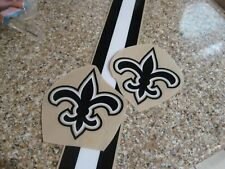 New Orleans Saints  3M football helmet decals and stripe 20 mil