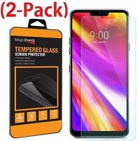 2X MagicShieldz Tempered Glass Screen Protector Guard Shield For LG G7 ThinQ