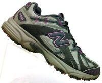 New Balance 411 All Terrain Gray/Pink Trail Running Shoes US Women's 8.5 D