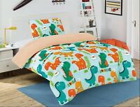 New Soft Kids 2 Piece Set Twin Size Bed Sherpa Plush Blanket Bed Cover with Sham