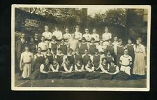 RASHCLIFFE Yorkshire   Rashcliffe Gym Club May 1920 Group RP