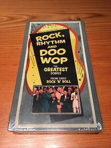 ROCK, RHYTHM AND DOO WOP-THE GREATEST SONGS FROM EARLY ROCK 'N' ROLL-VHS-MUSIC