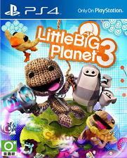 New Sony PS4 Games LittleBigPlanet 3 HK Version Chinese/English Subs