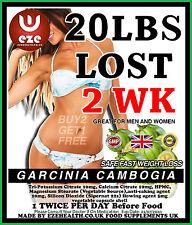 WEIGHT LOSS PILLS FAT BURNERS DIET  GARCINIA CAMBOGIA SLIMMING BUY 2 GET 1 FREE