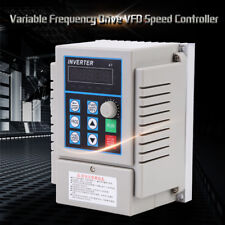 220V 0.75kW Single Phase 3PH Variable Frequency Drive VFD Speed Controller el