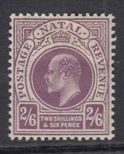 Natal 1904 2s6d Purple SG157 Mtd Mint