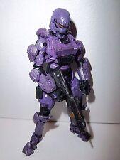 Halo 4 Series 1 ***PURPLE SPARTAN SOLDIER*** McFarlane 100% Complete w Gun!!