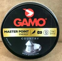 GAMO MASTER POINT ENERGY COUNTRY .22 CALIBER PELLETS 250 Count 15.43 gr POINTED