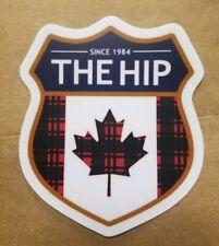 The Tragically Hip Lumberjack Crest Vinyl Decal Sticker Gord Downie 4in plaid