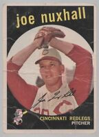 1959 TOPPS #389 JOE NUXHALL – GOOD (2)