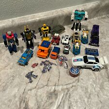HUGE Lot of 16+ - Transformers - G1 - Vintage